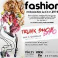 Fashion Ambassador Summer 2016, pour mettre en avant les penderies de l'été des ambassadeurs ASOS au showroom Hedgren a Paris, France, le 12 mai 2016.