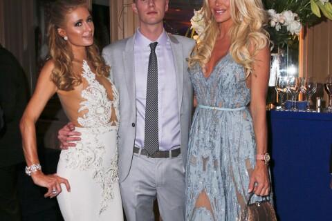 Victoria Silvstedt et Paris Hilton : Beautés généreuses à Cannes