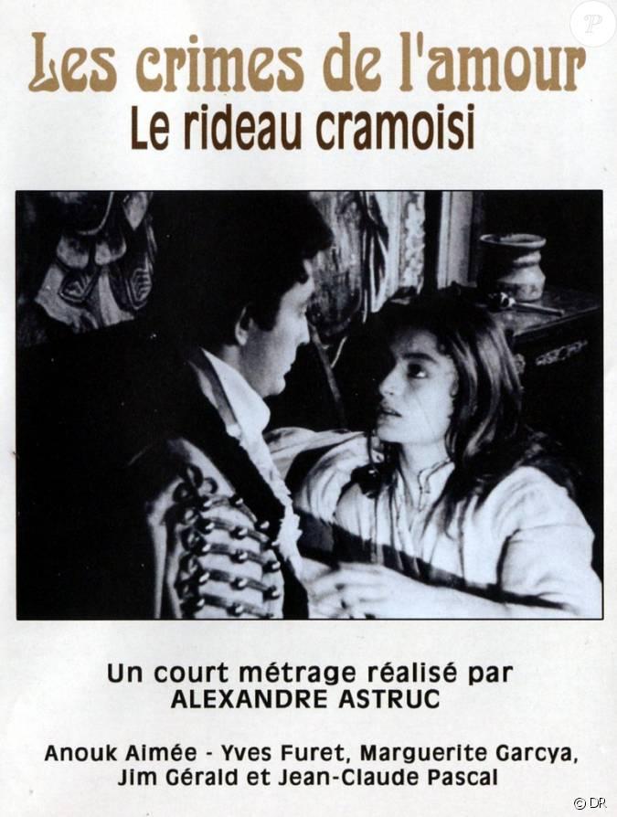 Affiche du film le rideau cramoisi r alis par alexandre for Autobiographie d un amour alexandre jardin