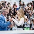 "Mel Gibson et Erin Moriarty - Photocall du film ""Blood Father"" lors du 69e Festival International du Film de Cannes, le 21 mai 2016. © Cyril Moreau - Olivier Borde/Bestimage"