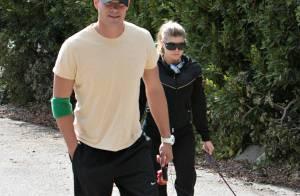 REPORTAGE PHOTOS EXCLUSIVES : Fergie et Josh Duhamel, un couple amoureux et... sportif !