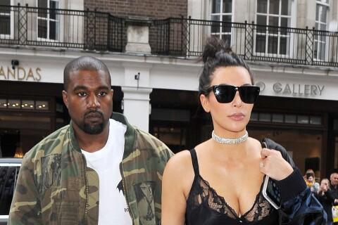 Kim Kardashian : En nuisette ou robe scintillante, ultrachic avec Kanye West