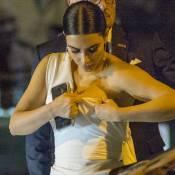 Kim Kardashian et Kanye West : Opéra, resto et décolleté capricieux à Rome