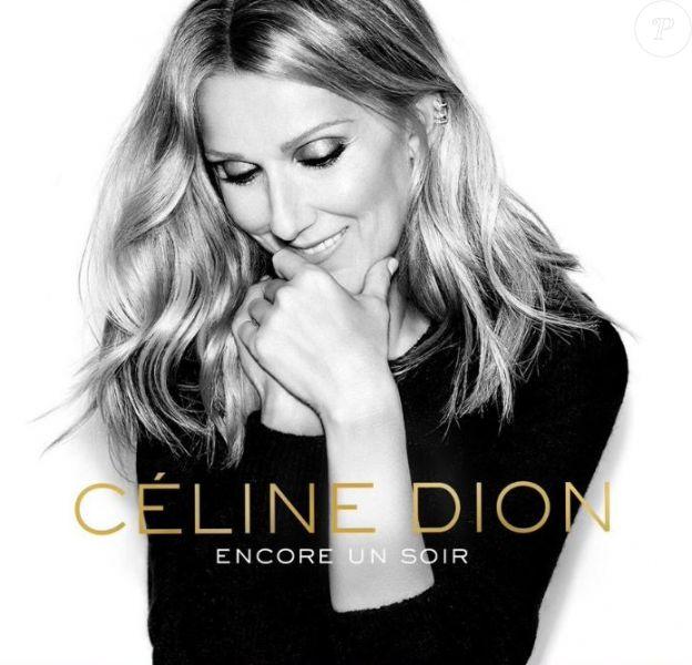 Pochette du single Encore un soir de Céline Dion