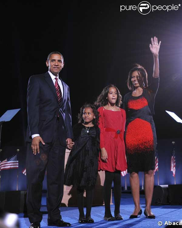 Barack Obama en famille