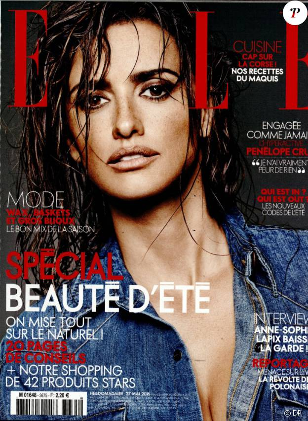 Le magazine Elle du 27 mai 2016