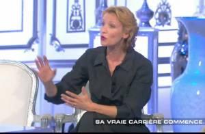 Alexandra Lamy souriante face aux questions insistantes sur... Jean Dujardin