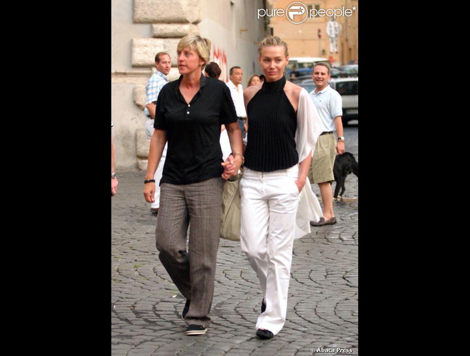 Ellen degeneres avec portia de rossi for Ellen degeneres and portia de rossi story