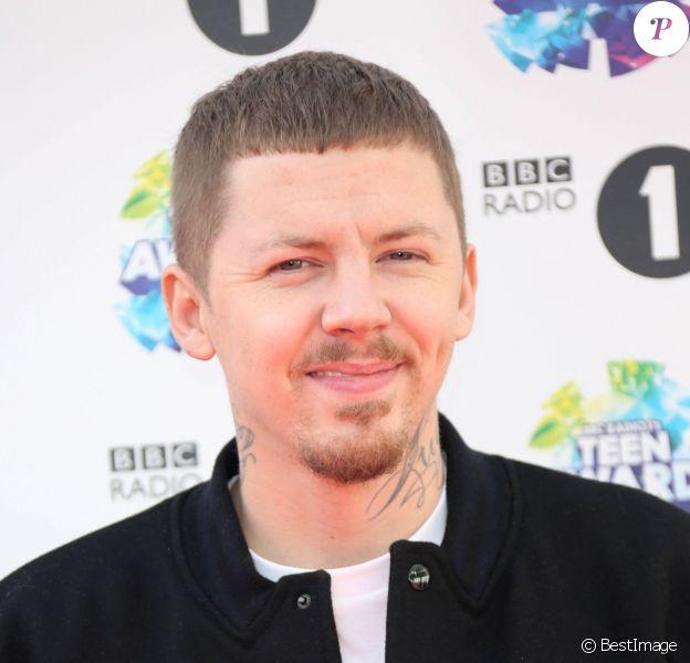 Professor Green aux BBC Radio Teen Awards 2013 au Wembley Arena, a Londres, le 3 Novembre 2013.