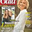 Couverture du numéro exceptionnel de Gala avec Alexandra Lamy rédactrice en chef