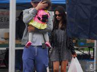 Mila Kunis et Ashton Kutcher de sortie avec leur adorable petite Wyatt