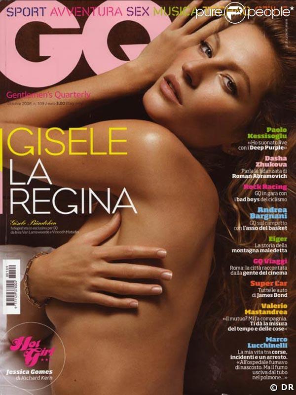 Gisele Bündchen pour GQ