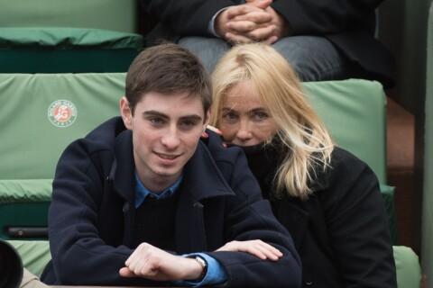 Emmanuelle Béart et son fils, Leonardo DiCaprio... Les stars à Roland-Garros