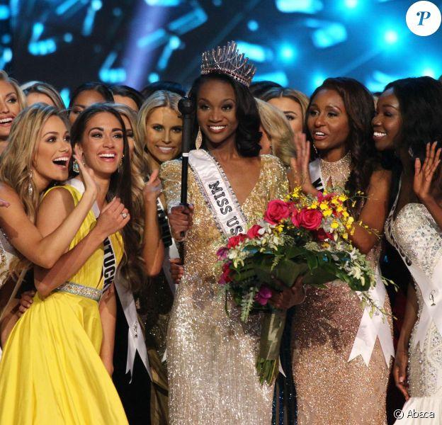 Miss District of Columbia, Deshauna Barber remporte leconcours Miss USA 2016 à Las Vegas, le 5 juin 2016
