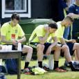 Zlatan Ibrahimovic à Bastad le 1er juin 2016 pendant la préparation de l'équipe nationale de Suède pour l'Euro 2016.