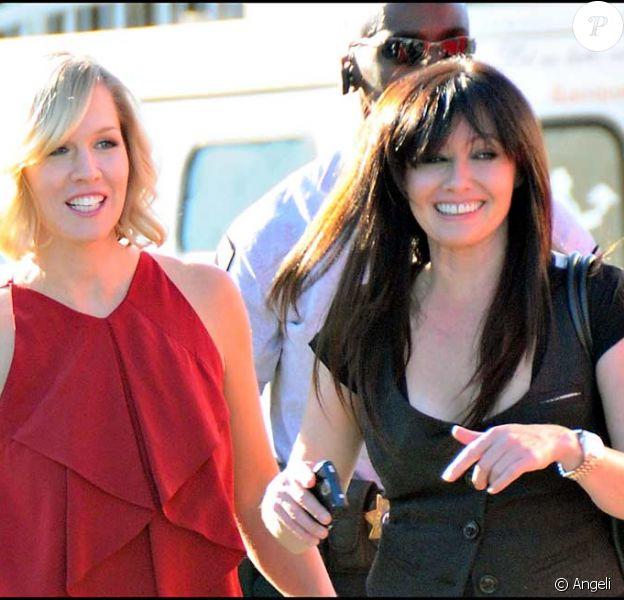 Jennie Garth et Shannen Doherty
