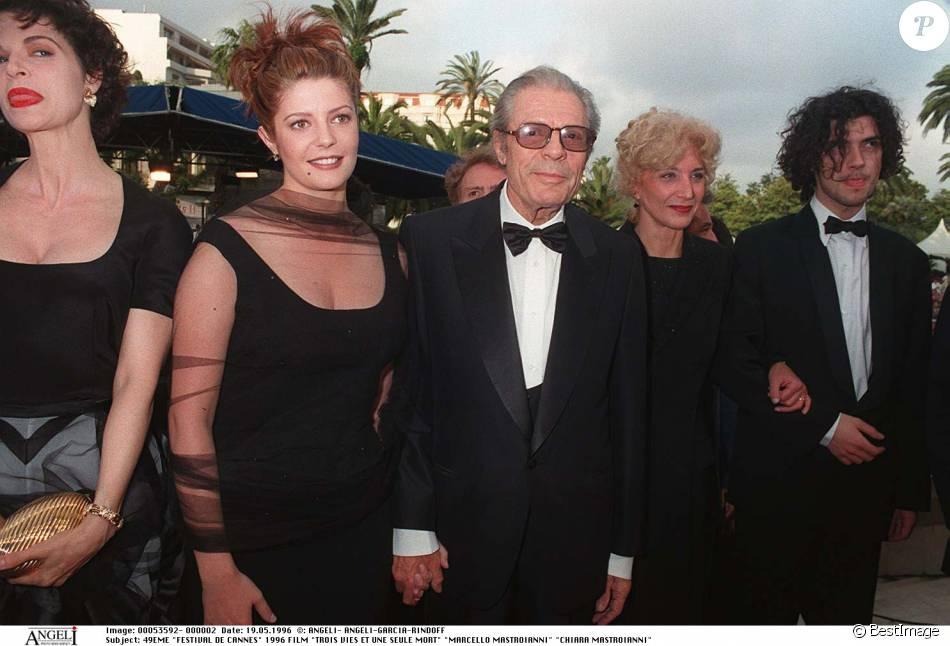 Chiara Mastroianni coupée au montage du film de son père ...
