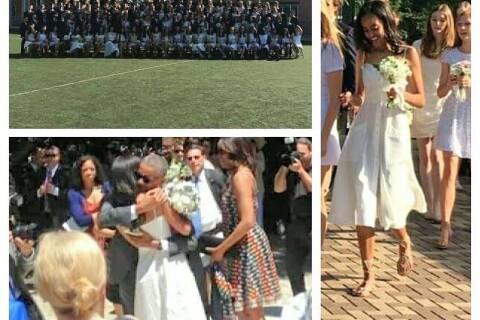Malia Obama : Enfin diplômée devant ses parents Barack et Michelle !
