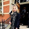 Kate Moss arrive à Invicta Plaza, lieu du défilé Coach. Londres, le 13 juin 2016.