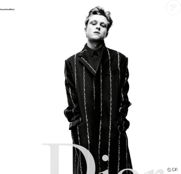 Rod Paradot - Campagne Dior Homme automne-hiver 2016-2017. Photo par Willy Vanderperre.