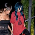 Kylie Jenner arrive au restaurant Koi à West Hollywood, le 14 juin 2016. Elle rejoint sa soeur Khloé Kardashian.