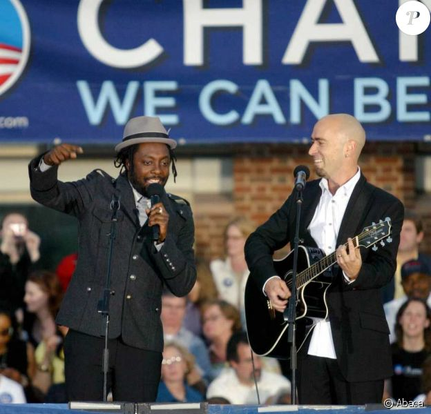 Will.i.am continue à s'enthousiasmer pour Obama
