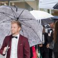 Brian Littrell des Backstreet Boys le 16 juin 2016 à la Maison des concerts de Stockholm pour la cérémonie du Polar Music Prize, qui a consacré Cecilia Bartoli (catégorie musicien classique) et Max Martin (catégorie musicien contemporain).