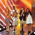 """Exclusif - Le groupe Kids United lors de l'émission de télévision pour TF1 """"La Chanson de l'Année 2016"""" à Nîmes le 17 juin 2016. © Bruno Bebert / Bestimage"""