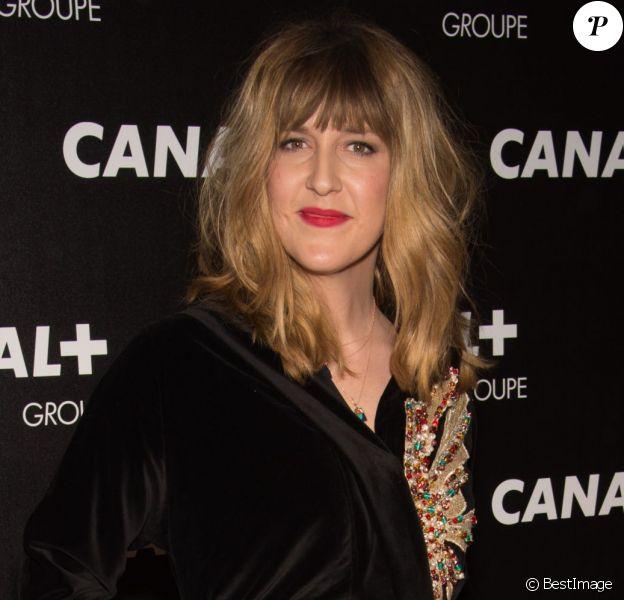 Daphné Bürki - Soirée des animateurs du Groupe Canal+ au Manko à Paris. Le 3 février 2016