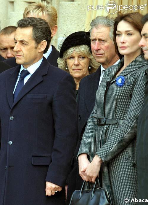 lors des commémorations du 11 novembre en 2008