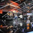 """Exclusif - Michel Drucker et Danièle Thompson- Enregistrement de l'émission le 16 juin 2016 """"Le Grand Show fête le Cinéma"""" à Paris, diffusée le 25 juin en prime time sur France 2."""