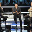 """Exclusif - Patrick Bruel et Michel Drucker, Jean Réno- Enregistrement de l'émission le 16 juin 2016 """"Le Grand Show fête le Cinéma"""" à Paris, diffusée le 25 juin en prime time sur France 2."""