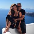 Le mariage du mannequin Xenia Deli, le 5 juin 2016 à Santorin en Grèce.
