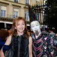 Sylvie Testud à l'inauguration de la fête des Tuileries organisée par Caroline Barclay le 24 juin 2016. © Coadic Guirec / Bestimage