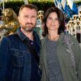 Alexandre Brasseur et sa femme Juliette à l'inauguration de la fête des Tuileries organisée par Caroline Barclay le 24 juin 2016. © Coadic Guirec / Bestimage