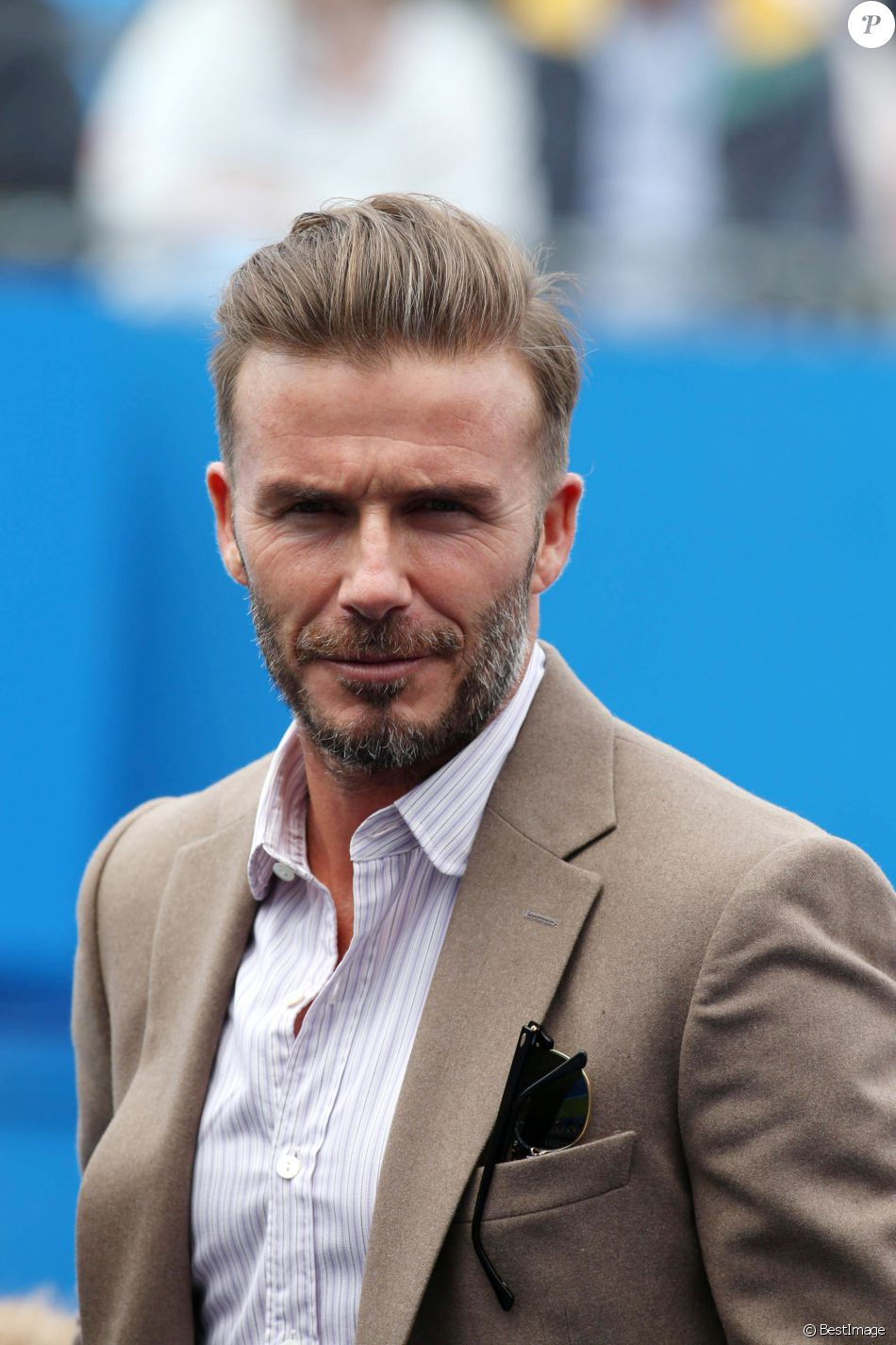david beckham au tournoi de tennis aegon queens tennis championship londres le 14 juin 2016. Black Bedroom Furniture Sets. Home Design Ideas