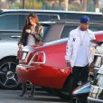 Kylie Jenner et son ex compagnon Tyga arrivent à la première du clip de Kanye West 'Famous' à Los Angeles le 24 juin 2016. © CPA/Bestimage 24/06/2016 - Los Angeles