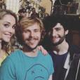 MB14 (The Voice 5) dans les coulisses du tournage de Nos cher voisins pour TF1. Juin 2016.