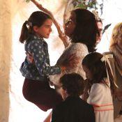 Katie Holmes : Jour de mariage avec sa fille Suri, câline...