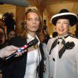 Sylvie Tellier et Geneviève de Fontenay