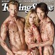 Alexander Skarsgard, Anna Paquin et Stephen Moyer (True Blood) en couverture du magazine Rolling Stone septembre 2010 -