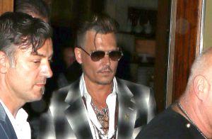 Johnny Depp, visage creusé : En plein divorce, ses enfants le soutiennent