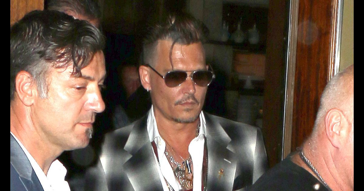Johnny Depp, visage cr... Vanessa Paradis 2016