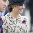 Le prince William et Kate Catherine Middleton, duchesse de Cambridge - Dévoilement de la plaque inaugurale de la nouvelle aile du musée lors des commémorations du centenaire de la Bataille de la Somme à Thiepval, bataille qui fût la plus meurtrière de la Première Guerre Mondiale. Le 1er juillet 2016