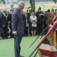 Le prince Charles - Commémorations du centenaire de la Bataille de la Somme à Thiepval, bataille qui fût la plus meurtrière de la Première Guerre Mondiale. Le 1er juillet 2016