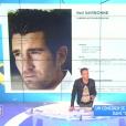 """Christophe Carrière fait de graves accusations contre l'émission """"Chasseurs d'appart"""", dans """"Touche pas à mon poste sur D8. Le 4 juillet 2016."""