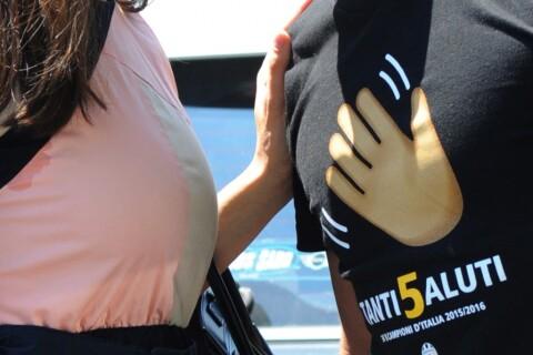 Eros Ramazzotti et Marica Pellegrinelli : Fous d'amour devant leur petit Gabrio