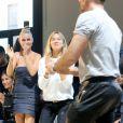 Laeticia Hallyday - Défilé Alexandre Vauthier (collection Haute Couture automne-hiver 2016/17) au Palais de Tokyo à Paris, France, le 5 juillet 2016. © CVS-Veeren/Bestimage