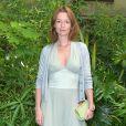 Audrey Marnay - Défilé Bonpoint Collection printemps / été 2017 à l'Hôtel de Brancas à Paris le 6 juillet 2016. © Giancarlo Gorassini / Bestimage