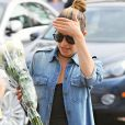 Lea Michele et sa mère Edith font du shopping à Whole Foods à West Hollywood, le 27 juin 2016